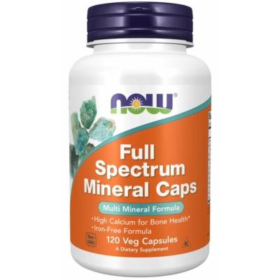 Now Full Spectrum Mineral 120 Caps Veg