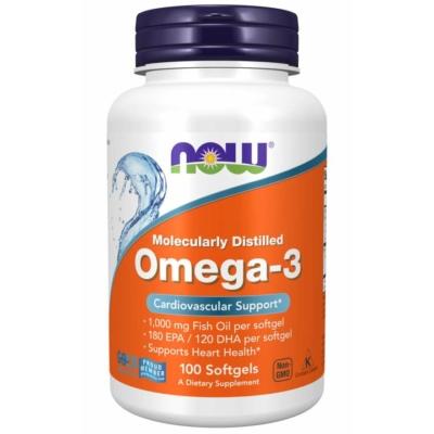 NOW Omega-3 1000mg / 100 softgels