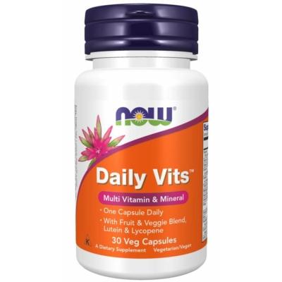 Now Daily Vits 30 Veg caps