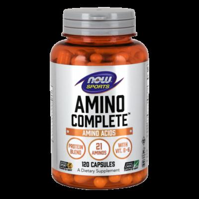 NOW Amino Complete 120 caps.