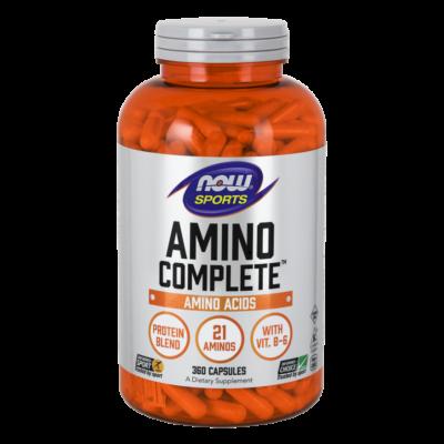 NOW Amino Complete 360 caps.