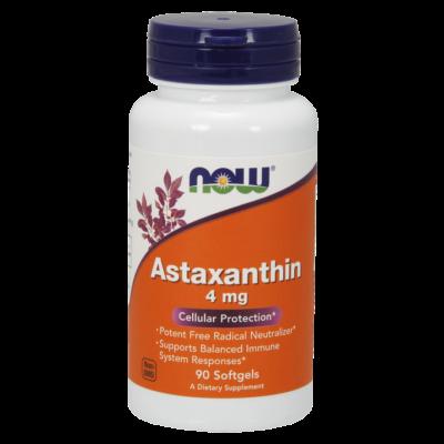 Now Astaxanthin 4mg 60 sgels