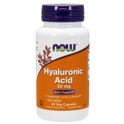 Now Hyaluronic Acid with MSM 60vcaps