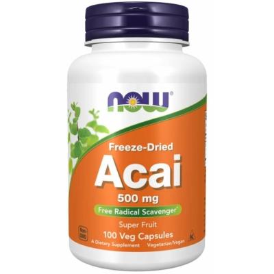 Now Acai 500 mg veg. sgel
