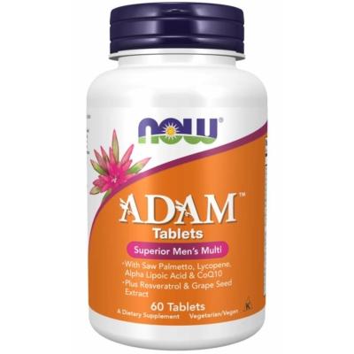 Now ADAM™ Superior Men's Multi vitamin - 60 Tablettás