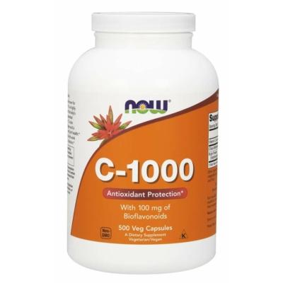 NOW C vitamin C-1000 500 kapszulás