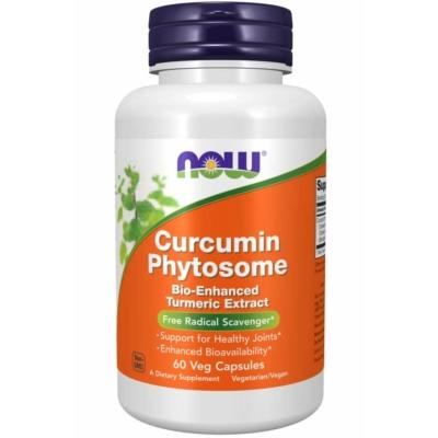 Now Curcumin Phytosome (fitoszóma) 60 Veg. kapszula