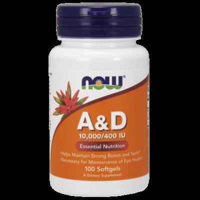 NOW A&D Vitamin 10000/400 100sgel