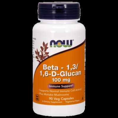 Now Beta-1,3/1,6-D-Glucan 100mg 90caps