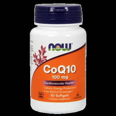 NOW CoQ10 100mg 50db