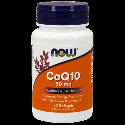 NOW CoQ10 50mg 50db lágykapszula