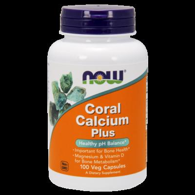 NOW Coral Calcium Plus 100 vcaps