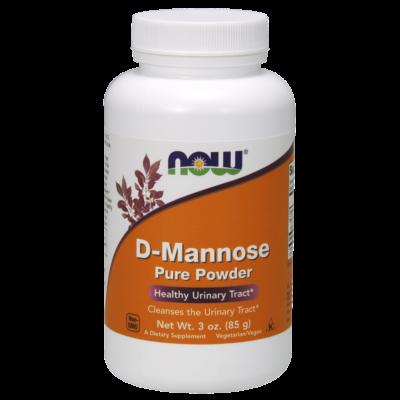 NOW D-Mannose Por 85 g.