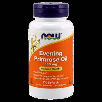 NOW Evening Primrose Oil (Ligetszépe olaj kapszula) 500mg 100sge