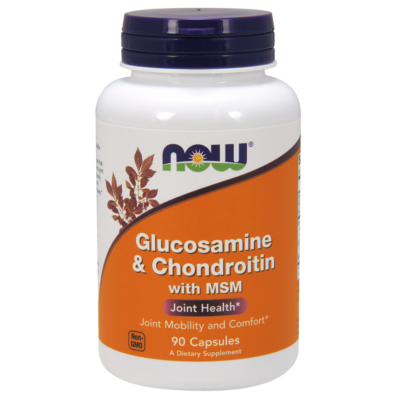 NOW Glucosamine and chondr. Msm 90 caps