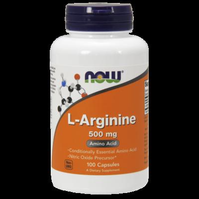 NOW L-Arginine 500mg 100caps