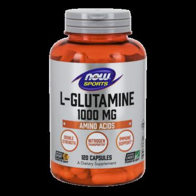 NOW L-Glutamine 1000mg 120 caps.