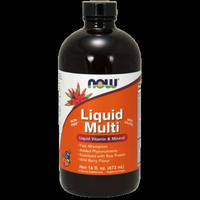 NOW Liquid Multi Berry 473ml