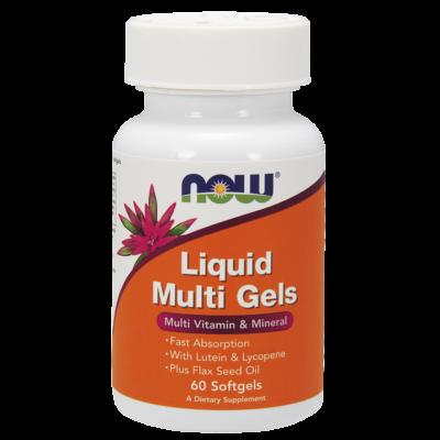 Now Liquid Multi Gels 60 sgels