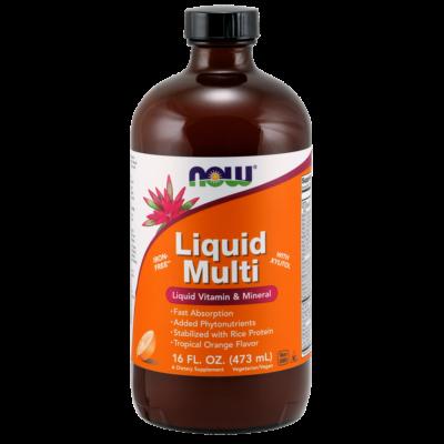 NOW Liquid Multi Orange 473ml