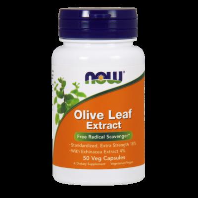 NOW Olive leaf ext 500mg/60db (olivalevél kivonat)