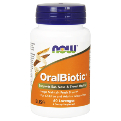 NOW Oral Biotic 60 szopogató kapszula