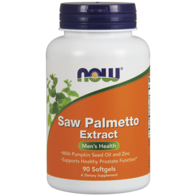 NOW Saw Palmetto Extract 80mg 90sgel