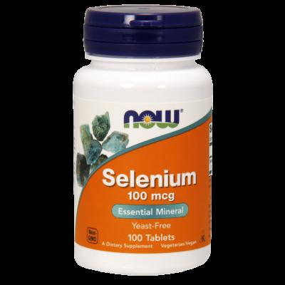 NOW Selenium 100mcg 100 Tabs