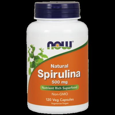 NOW Spirulina 500 mg /100db